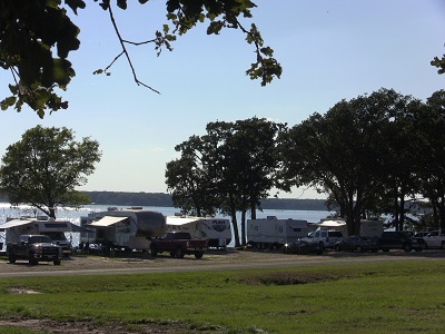 Waterfront RV Lake Tawakoni Wind Point Park