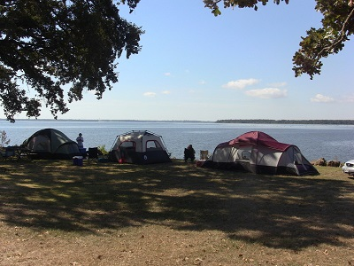 Lake Tawakoni Tent Camping Wind Point Park